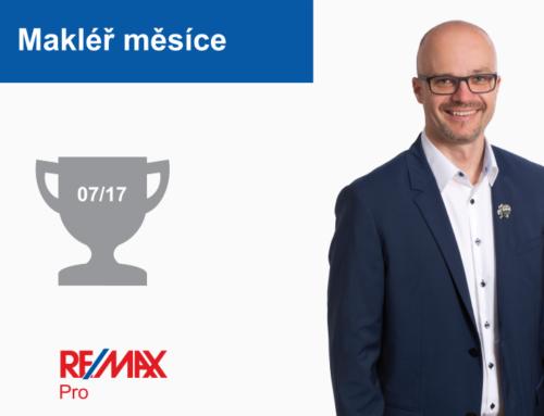 Zdeněk Štourač – makléř měsíce července 2017
