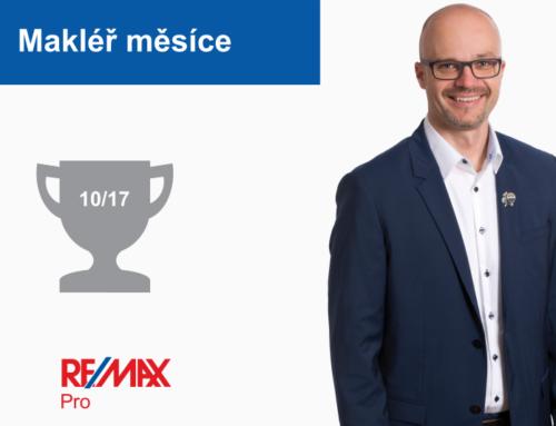 Zdeněk Štourač – makléř měsíce října 2017