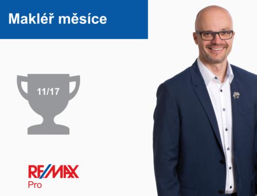 Zdeněk Štourač – makléř měsíce listopad 2017