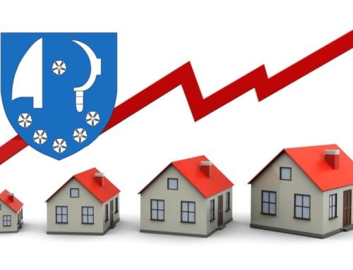 Vývoj cen bytů v MČ Brno-Komín